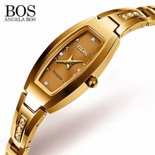 Tungsten Steel Sapphire Ladies Watch