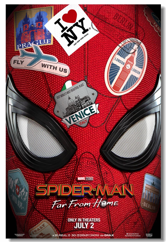 Personalizzato parete della tela di canapa stampe spider for Stampe da colorare spiderman