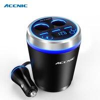 Car MP3 Music Player Bluetooth Car Kit FM Transmitter HandsFree Cigarette Lighter Adapter Splitter 3 Ports USB Charger fm modula