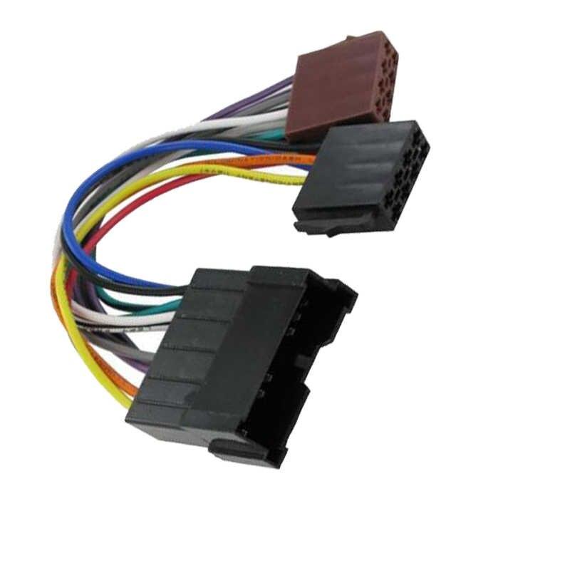 Car ISO WIRING HARNESS Radio Plug Cable Loom for Hyundai Coupe Tiburo  Terracan Trajet Kia Rio Carnival Sorento Cerato Optima|Cables, Adapters &  Sockets| - AliExpressAliExpress