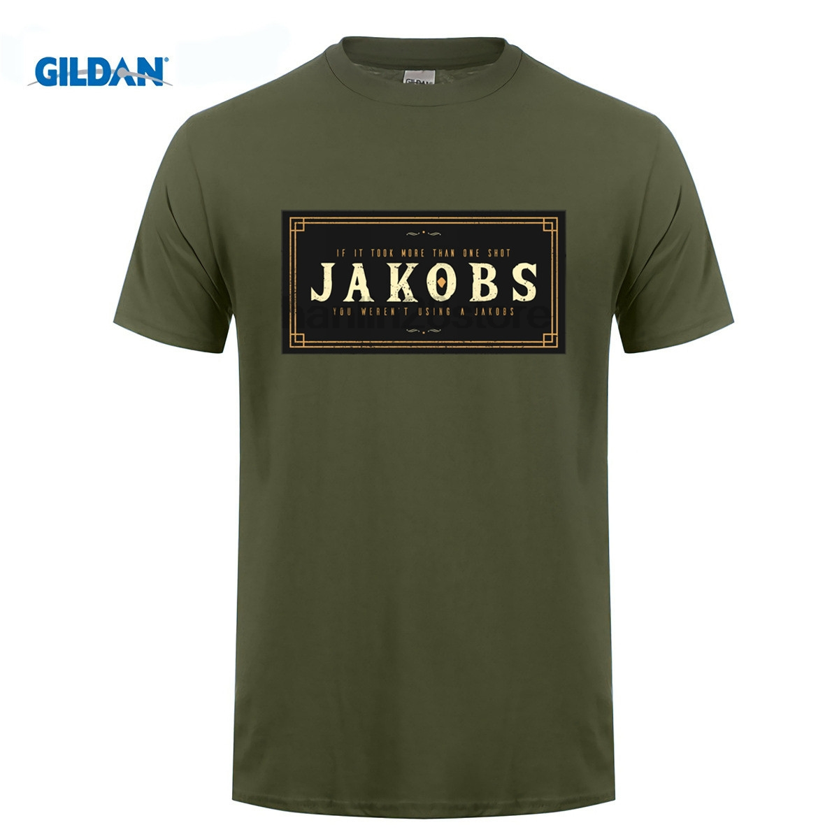 GILDAN <font><b>Borderlands</b></font> Jakobs T Shirt image
