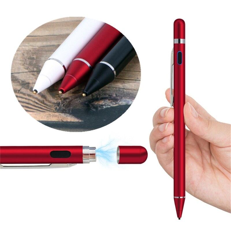 עבור apple Stylus Precision עבור Apple iPad Pro עבור סמסונג Tab 10.1 Tablet עיפרון עבור עט מגע מסך כתוב iphone תיקו משחק קיבולי (3)