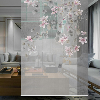 120CMX200CM Biombo Translucent wall panels porch hanging curtain soft partition stylish living room entrance Guabing