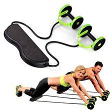 Тренажерное Оборудование для тренировки мышц, домашнее фитнес оборудование, двойное колесо, колесо для пресса, Ab роликовый тренажер для тренажерного зала