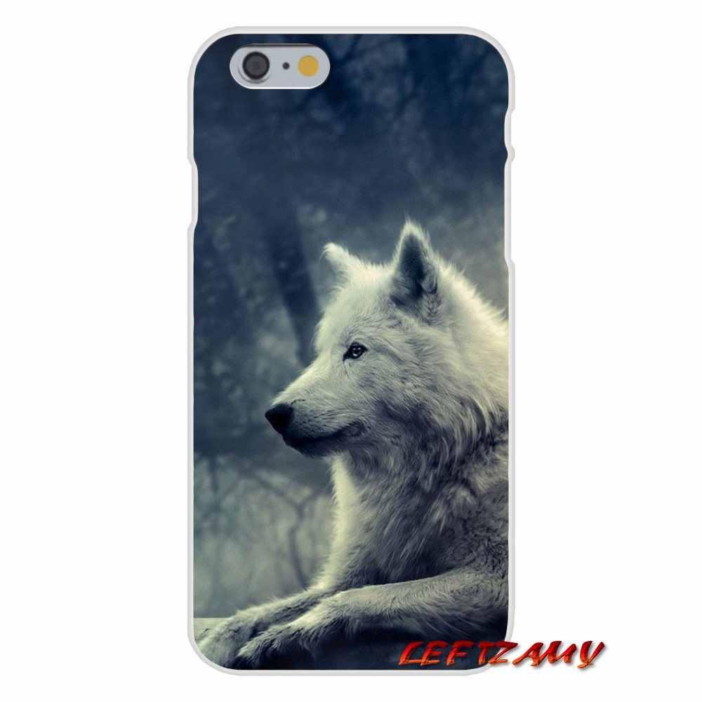 Прозрачный ТПУ чехол для Xiaomi mi6 mi 6 A1 Max mi x 2 5X 6X красный mi Примечание 5 5A 4X 4A A4 4 3 плюс про животных Лунная волк для
