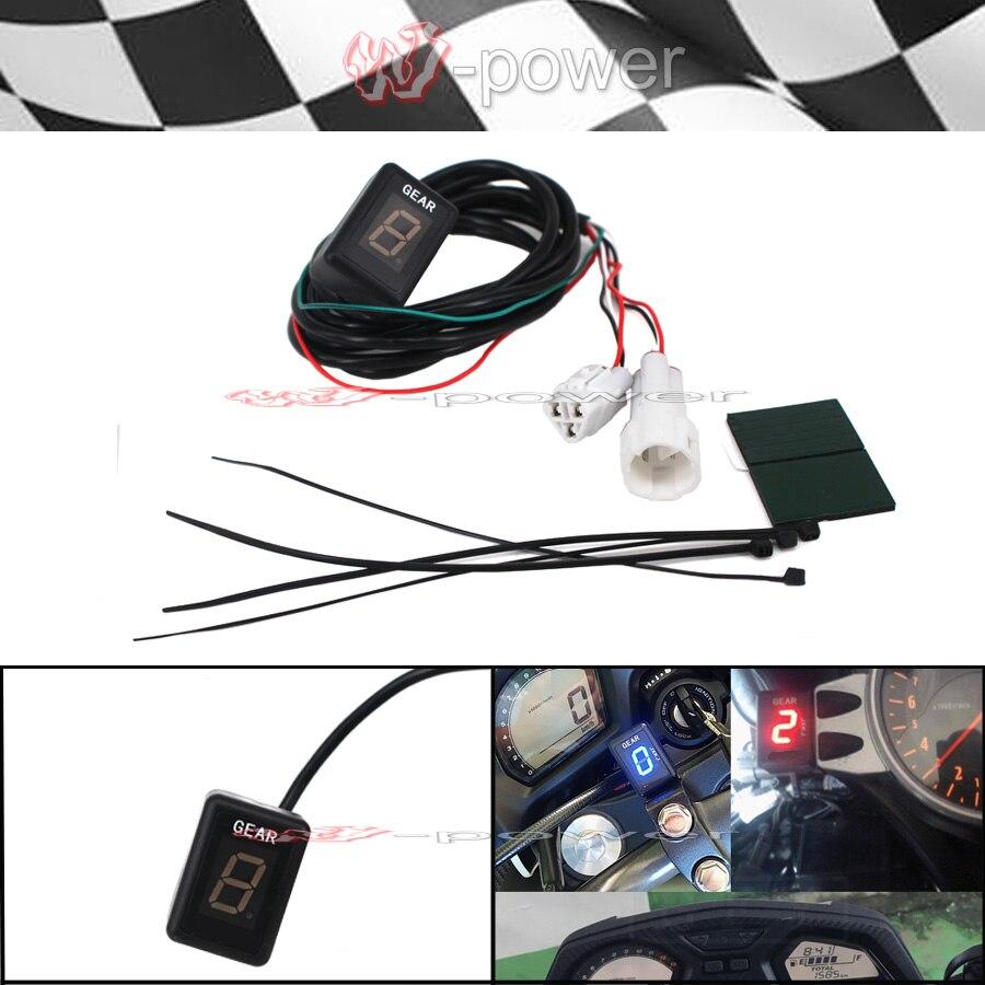 Moto Indicateur De Vitesse Plug & play Pour Yamaha FZ8 Boulon YZF R1 R6 Bo1100 FJR1300 FZ16 FZ400FZ6 FZ6R FZ8 FZ1 FZH150 FZN150 FZS600