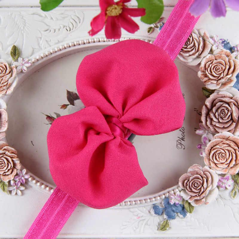 เด็ก headbands headwear หญิง bow knot hairband head band ทารกแรกเกิดเด็กวัยหัดเดินของขวัญ tiara อุปกรณ์เสริมผม