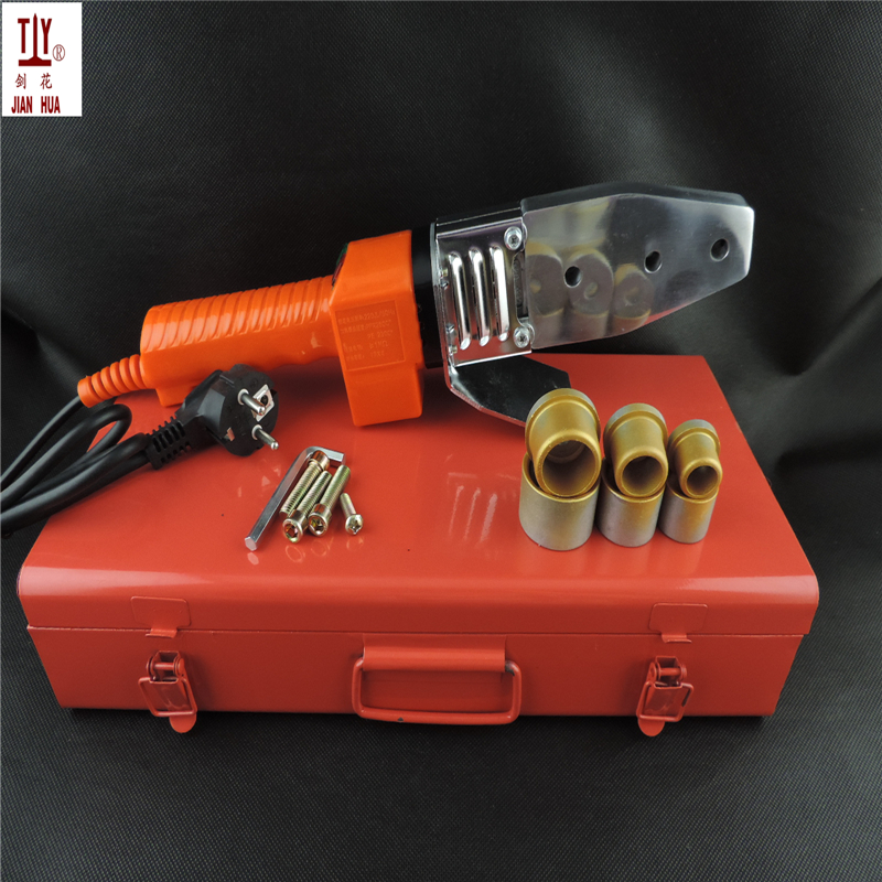 Free shipping Length thick plate electronic constant temperature fuser 20-32mm plastic welding plumber tool pipe welding machine free shippng grade a plumber tool constant temperature electronic ppr tube pipe welding machine ac 220v 800w 20 32mm to use