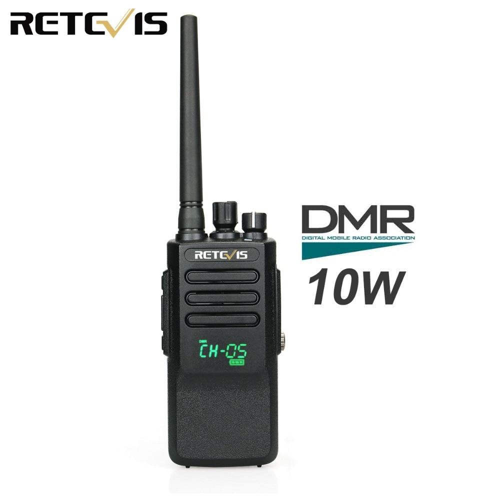 Retevis RT50 10W Walkie Talkie Digital DMR Radio IP67 Waterproof UHF 400-470 Mhz Dual Time Digital/Analogue RadioRetevis RT50 10W Walkie Talkie Digital DMR Radio IP67 Waterproof UHF 400-470 Mhz Dual Time Digital/Analogue Radio
