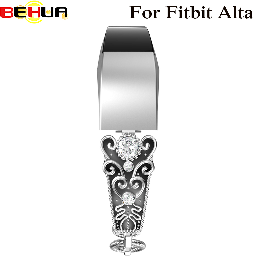 High Quality Watch Band Strap For Fitbit Alta Replacement Metal Band Bracelet For Fitbit Alta HR Smart Watch Correas de reloj stainless steel replacement watch band strap bracelet for fitbit alta fitbit alta hr metal wristband replacement watch band