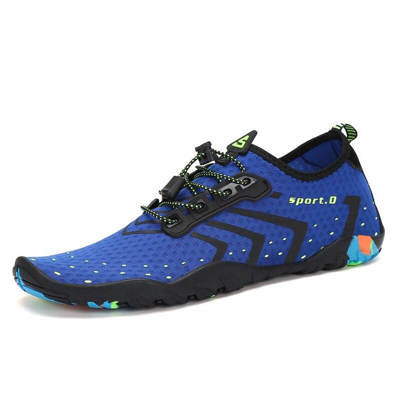 Comprar Zapatos De Agua Verano Los Hombres Transpirables Zapatillas ... dddf1cc421b
