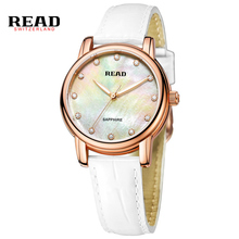 Read Top Luxury Brand Fashion Creative Design Leather Strap Waterproof Women Quartz Watch Classical Bussiness Wristwatch