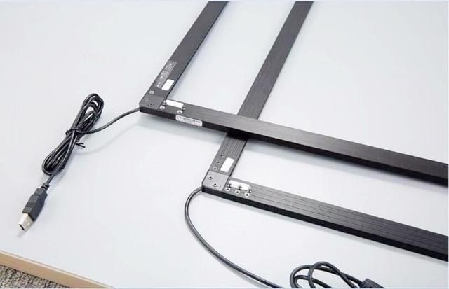 ZZDtouch 32 pouces IR tactile cadre 10 points usb infrarouge écran tactile panneau écran tactile overlay pour moniteur à écran tactile