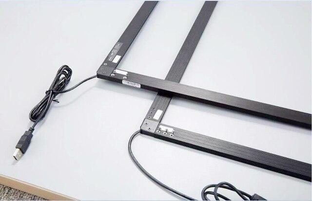 ZZDtouch 32 pouces IR tactile cadre 10 points usb infrarouge écran tactile panneau écran tactile superposition pour écran tactile moniteur