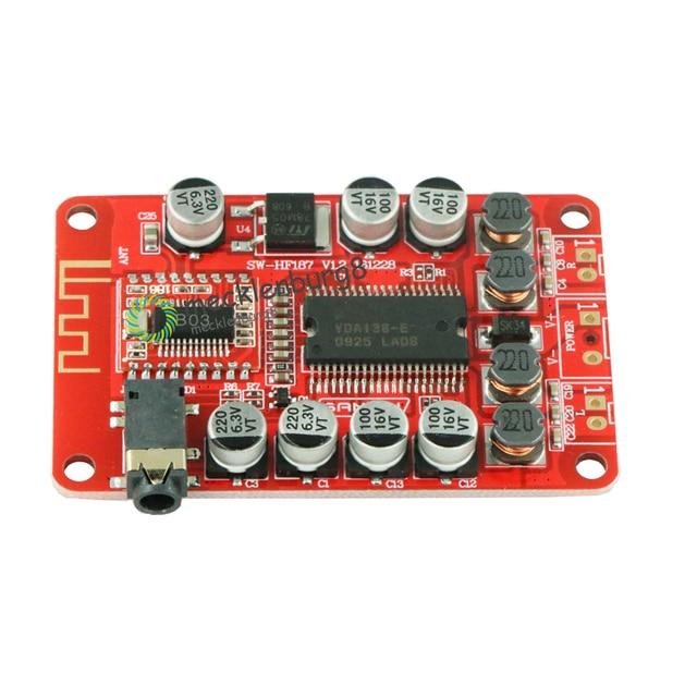 YDA138 DC 12V 2A Bluetooth dijital ses amplifikatörü modülü Kurulu Sınıf D 2*15 W stereo 2 kanal Güç amplifikatörler