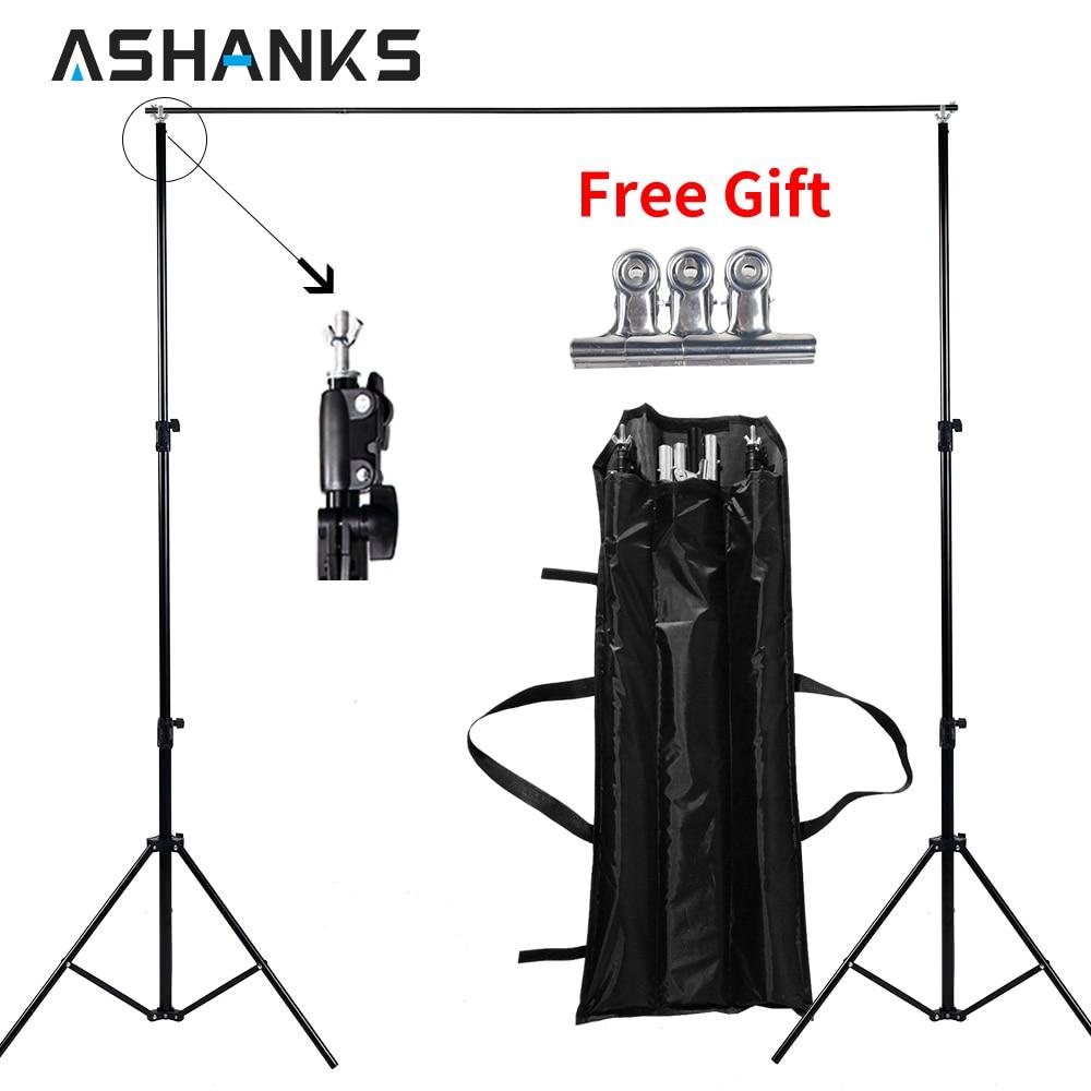 Высокое качество 2x2 м Studio Professinal фотографии фонов задний план поддержка системы подставки + сумка Бесплатная доставка