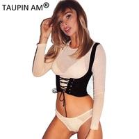 Lace Up Women Wide Waist Belt 2 Side Buckle Waistband Vintage Elastic Waist Belt Tank Shoulder
