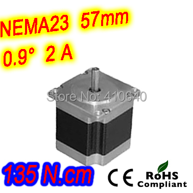 цена на 12 pieces per lot high torque step motor 23HM30-2006S L 76 mm Nema 23 with 0.9 deg 2 A 135 N.cm and unipolar 6 lead wires