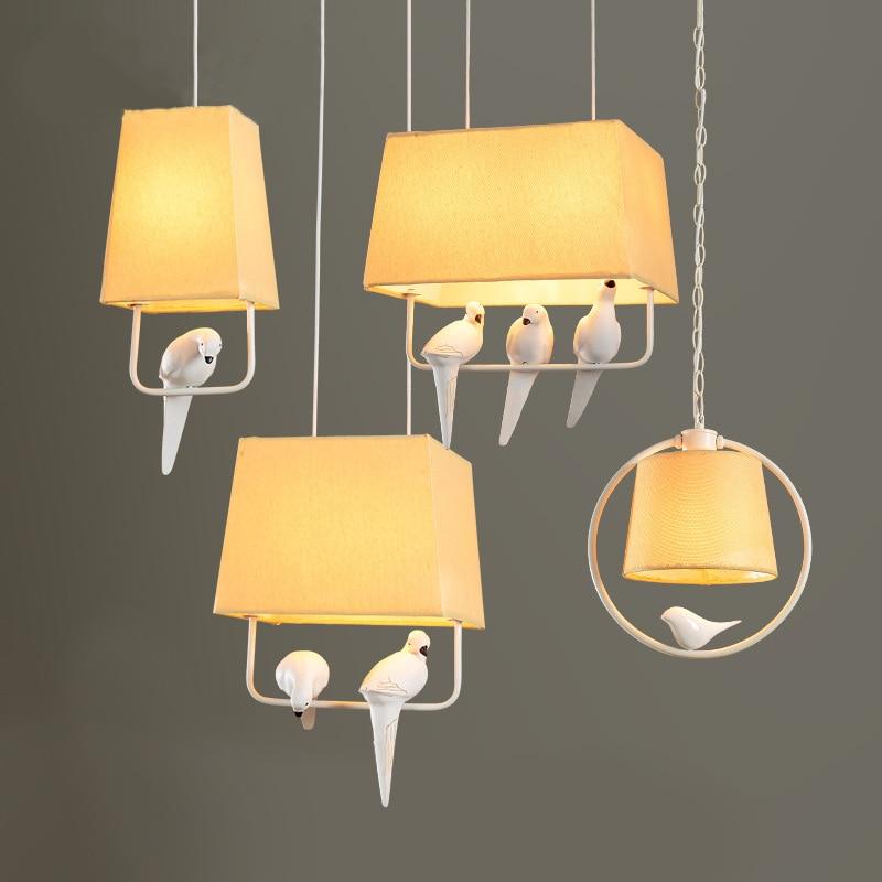 TUDA Free Shipping bird sculpture chandelier for living room dining bar lamp chandelier bedroom minimalist modern Art Chandelier