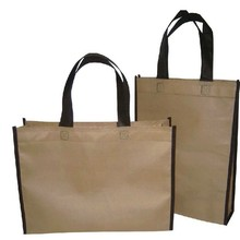 MOQ 50 PCS non woven shopping bag for promotion blank style