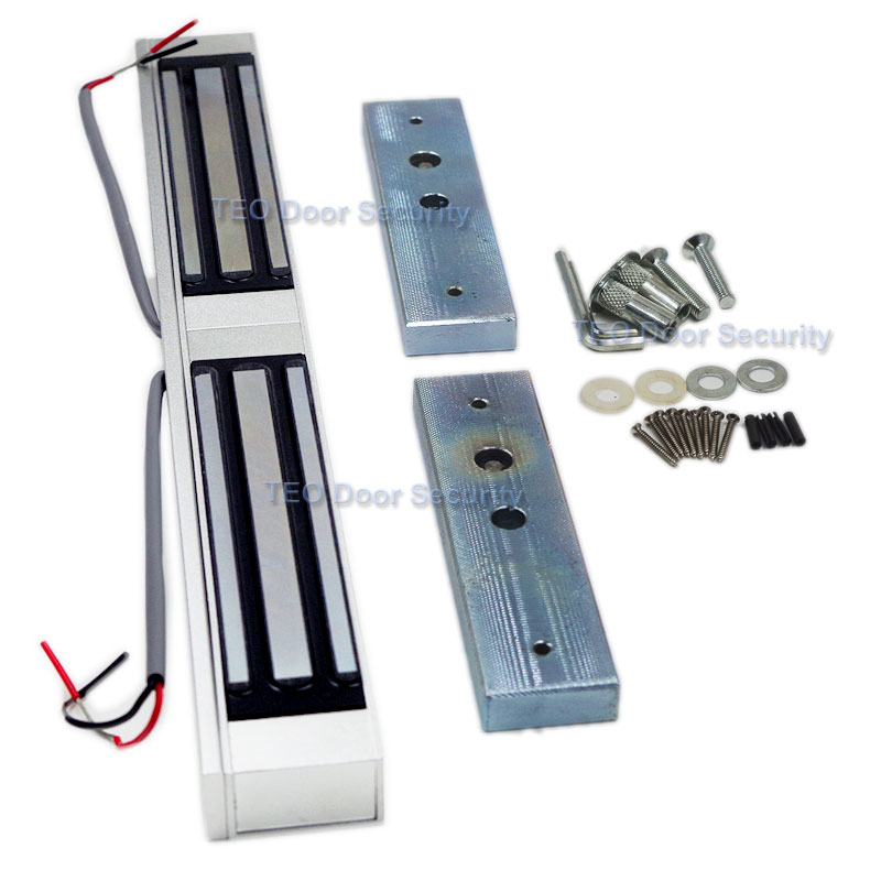 Electromagnetic Lock Concealed Installation Double Doors EM lock Electric Door Lock 350Bls 180KG Waterproof Lock lock