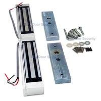 Electromagnetic Lock Concealed Installation Double Doors EM lock Electric Door Lock 350Bls 180KG Waterproof Lock