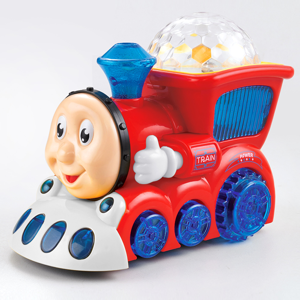 Toys Train Electric Toy With Light & Music Learning Educational Toys Train Car For Children Boy Gift
