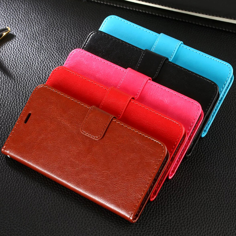 Para meizu caso u10 5.0 pulgadas de lujo caja del teléfono billetera de cuero de