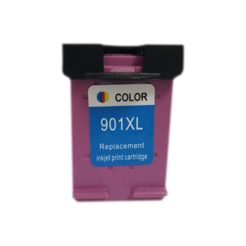 vilaxh 901xl Remanufactured Ink Cartridge Compatible for <font><b>hp</b></font> <font><b>901</b></font> <font><b>xl</b></font> Officejet 4500 J4500 J4524 J4530 J4540 J4550 J4580 Printer image