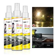 100ML Car Glass Antifogging Agent Front Glass Curing Cleaning Spray Mist Scavenger Water Removal Agent Car Accessries