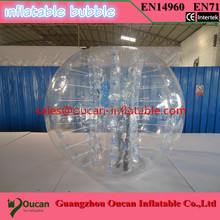 free shipping commercial PVC inflatable bubble soccer, inflatable bubble football