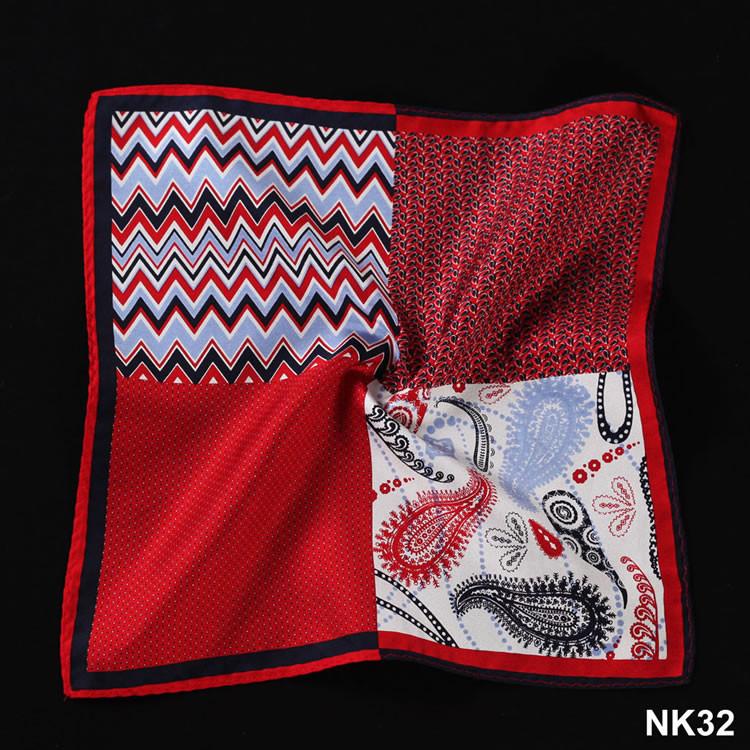 NK32 HN12R Red Herringbone Paisley Dot (5)