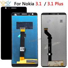 For Nokia 3.1 LCD Display And Touch Screen Screen Digitizer Assembly Replacement For Nokia 3.1 plus LCD +Tools