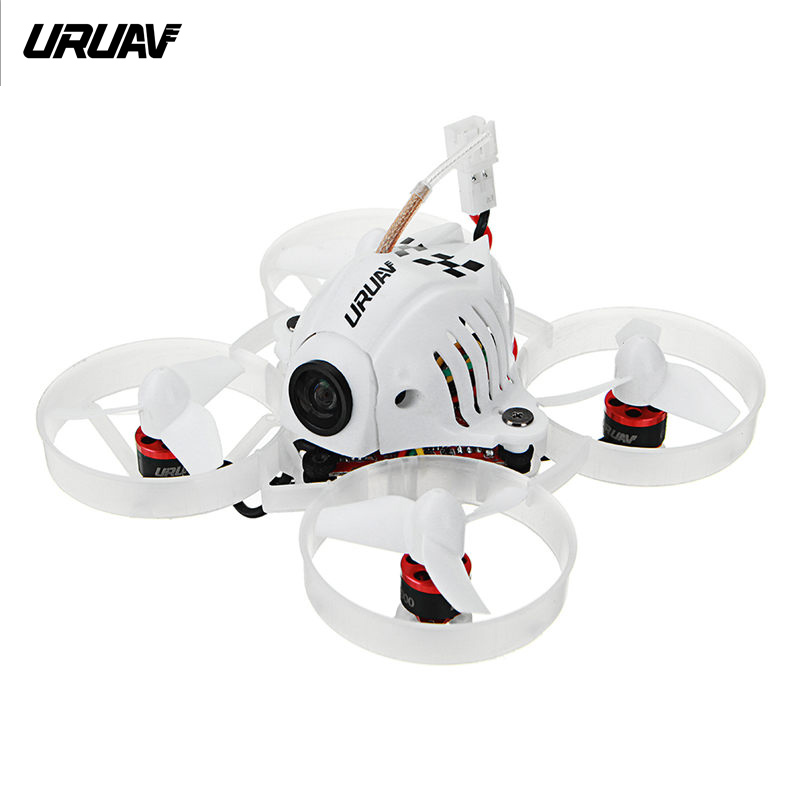 URUAV UR65 65mm FPV Racing Drone BNF Crazybee F3 Flight Controller OSD 5A Blheli S ESC