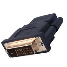 Elistoooop DVI 24+ 1 Мужской к HDMI Женский конвертер позолоченный адаптер 1080P для HDTV lcd DVI-D