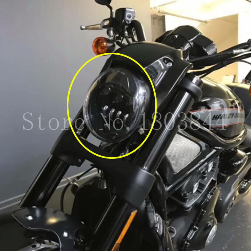 2017led headlight motorcycle aluminum headlight for. Black Bedroom Furniture Sets. Home Design Ideas