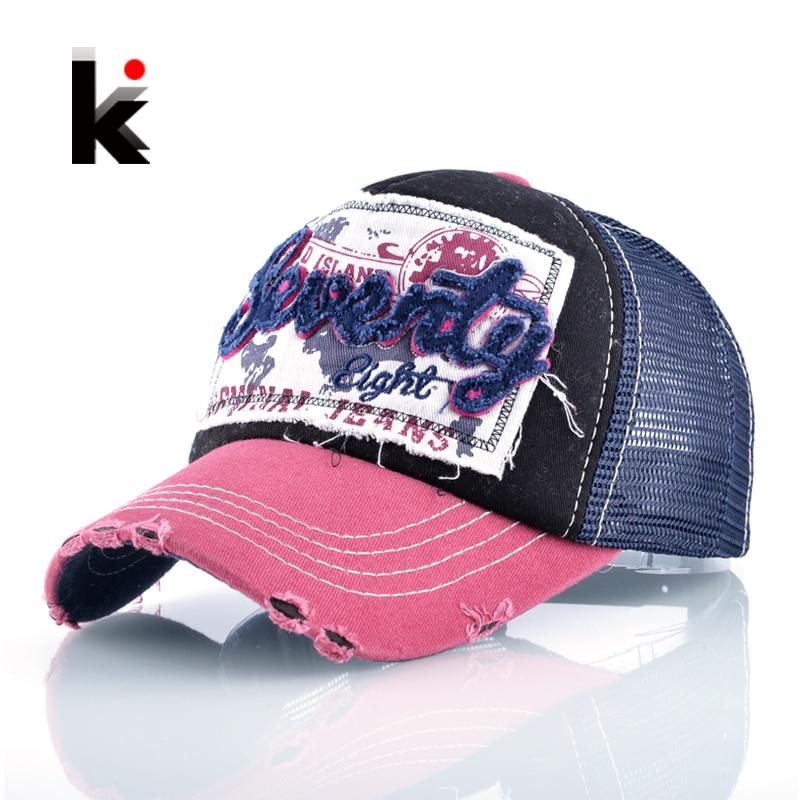 Girl's Cotton Snapback Trucker Cap Drake 5 Panel Sun Ademende Hat - Kledingaccessoires