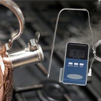 Digital Food Thermometer Grill Oven BBQ Meat Steak BBQ Household Cooking Thermometers Temperature Gauge Alert Waterproof