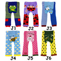 Nuevo 6 unids Babyizu Leggings Pantalones de Los Niños pantalones niño medias del bebé infantil del desgaste del cabrito
