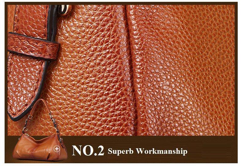 Ladies Handbags 2016 New Womens Bags And Purses Solid Women Leather Shell Bag Bags Zipper Retro Designer Handbags High Quality_041