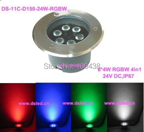 frete gratis por dhl 24 w rgbw levou ao ar livre holofotes diodo emissor de luz