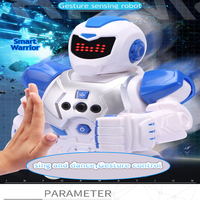 USB Charging Robot Toy RC Gesture Sensor Smart Robot Manipulator Hand Action Walk Dancing For Baby Kids Gifts Children Toy FSWB
