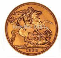 Il trasporto libero 50 pz/lotto, 1963 UK Queen Elisabetta II moneta Sovrana, Rotondo di metallo souvenir moneta