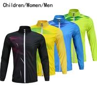 New autumn winter wear coats, badminton suits, windbreaker, tennis jackets, men / women / children's sports, warm clothes