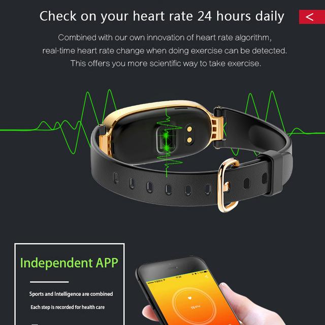 Color Screen Waterproof S3 Plus Smart Watch Women Ladies Heart Rate Monitor Smartwatch relogio inteligente For Android IOS reloj