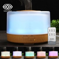 Warmtoo LED Essential Oil Fragrance Nebulizer Humidifier Air Aroma Aromatherapy Diffuser Air Purifier Essential Oil Aroma