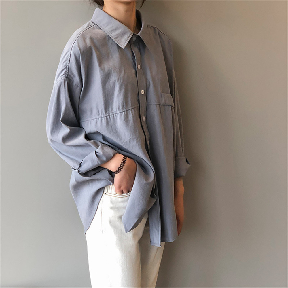 Vintage Women Blouse Shirts 2019 Autumn Korean Long Sleeve Women's Tops Blouses Blusas Roupa Feminina Tops High Quality Y6523 (18)