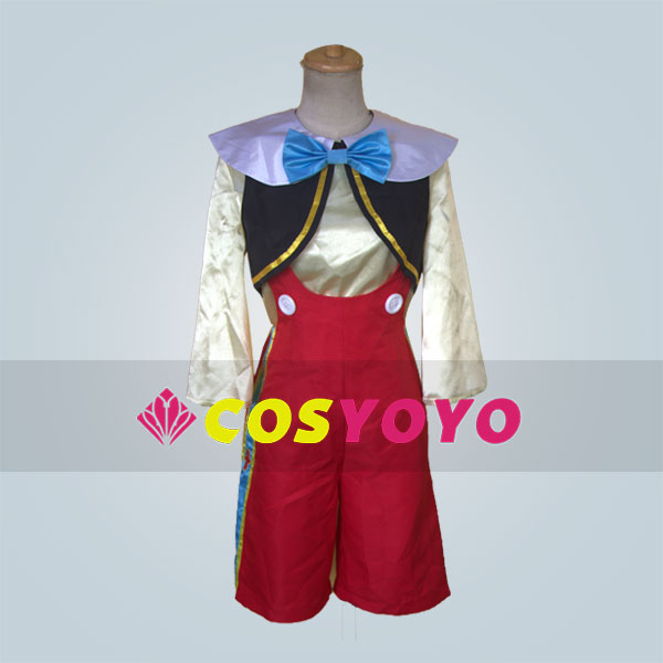 The Adventures of Pinocchio cosplay costume dress any size Halloween design
