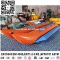 Doble tubo de 10 persona catamarán barco de plátano inflable Remolcable pez Volador