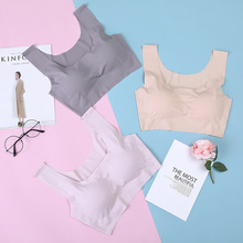 Women Lingerie Seamless Bra Explosion Japanese Underwear Comfortable Sleep Sports Solid Color Girl Bralette